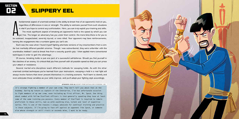 Star Trek: Kirk Fu Manual