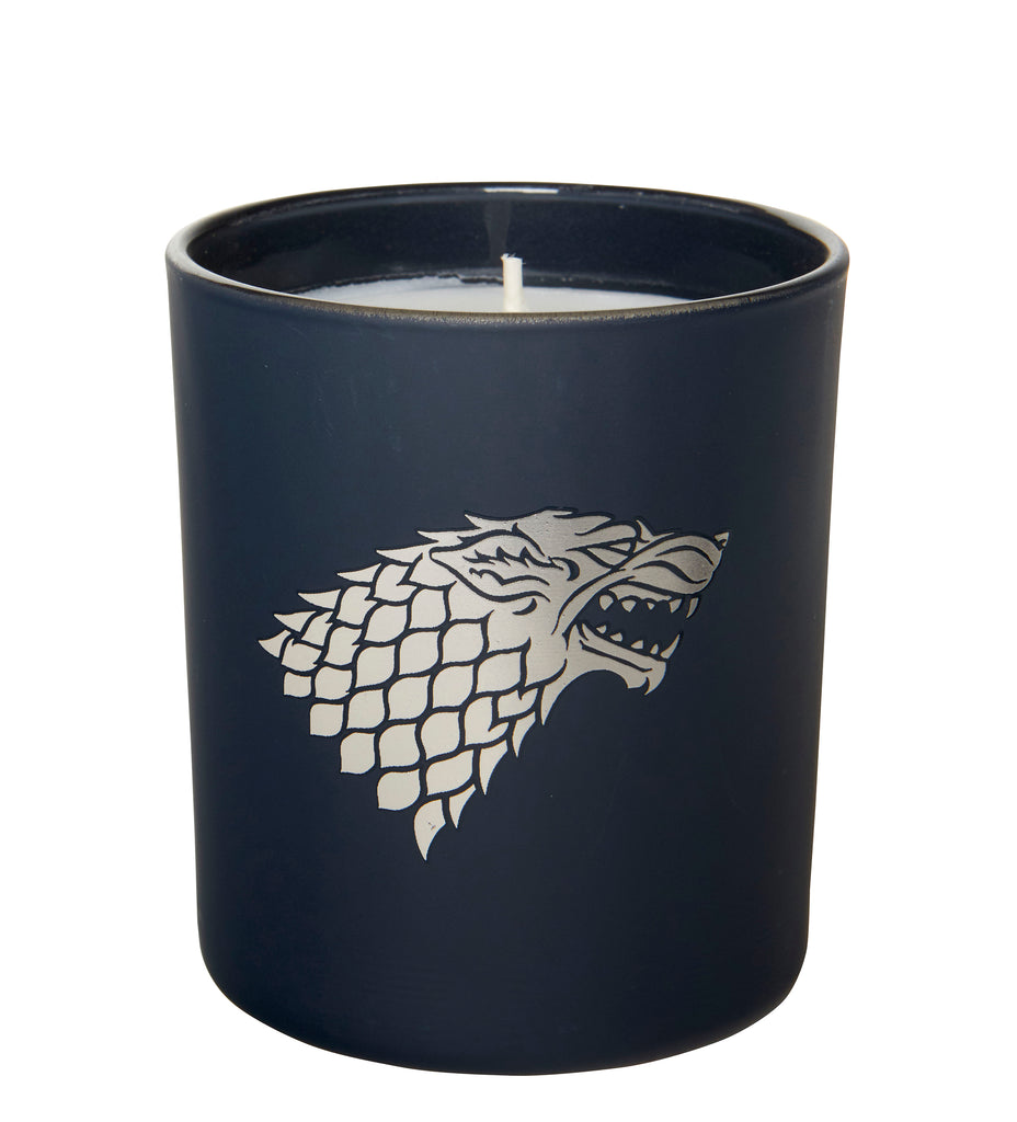 Game of Thrones: House Stark Glass Candle