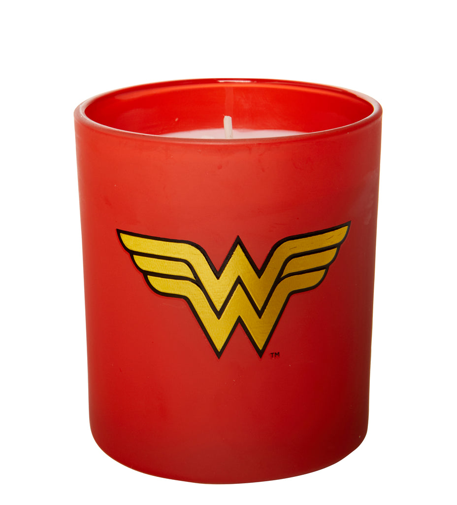 DC Comics: Wonder Woman Glass Candle