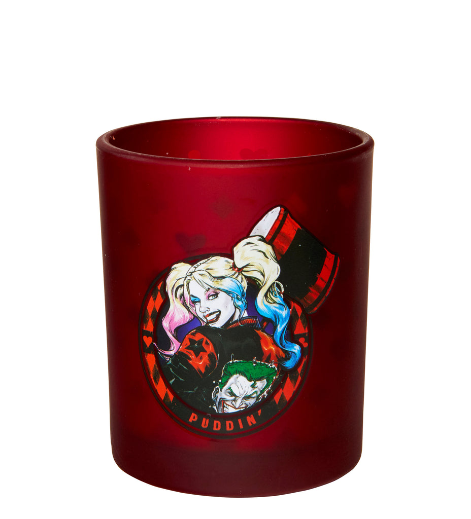 DC Comics: Harley Quinn Glass Votive Candle