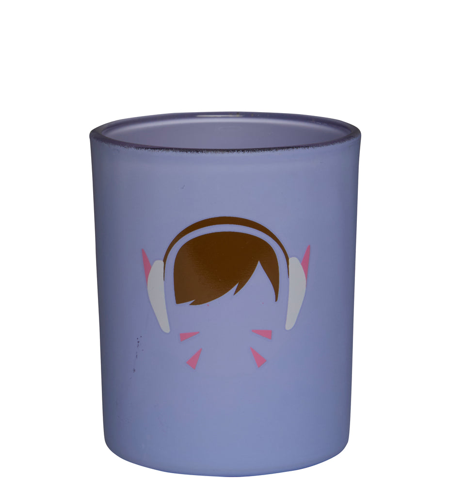 Overwatch: D.Va Glass Votive Candle