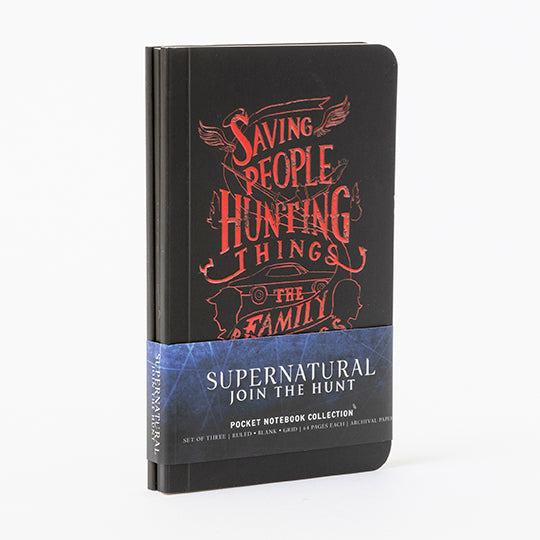 Supernatural Pocket Notebook Collection (Set of 3)