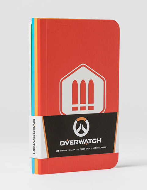 Overwatch Pocket Notebook Collection (Set of 4)