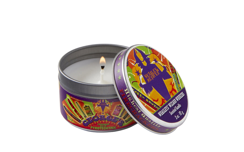 Harry Potter: Weasleys' Wizard Wheezes Scented Candle (Mint - 2 oz.)
