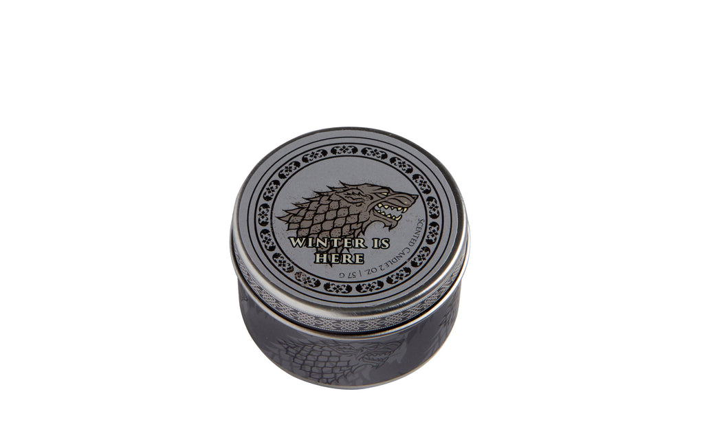 Game of Thrones: House Stark Scented Candle (2 oz. - Frosted Pine)