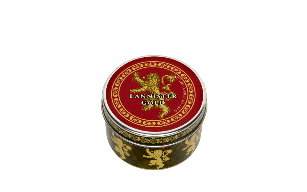 Game of Thrones: House Lannister Scented Candle (2 oz. - Cinnamon)