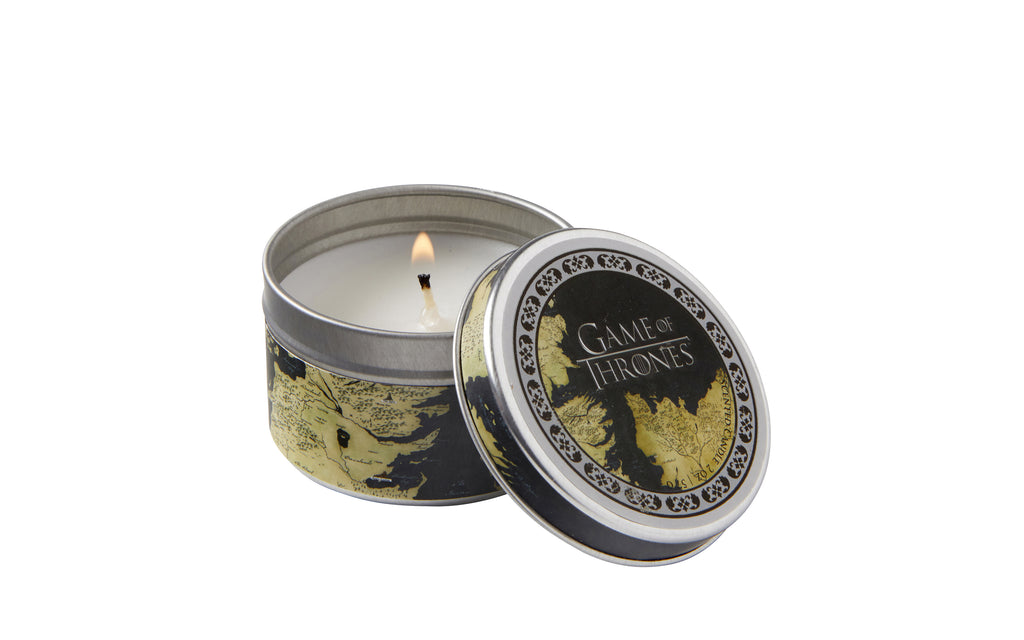 Game of Thrones Map Scented Candle (2 oz. - Vanilla)