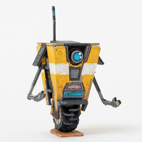 IncrediBuilds: Borderlands: Claptrap 3D Wood Model and Poster