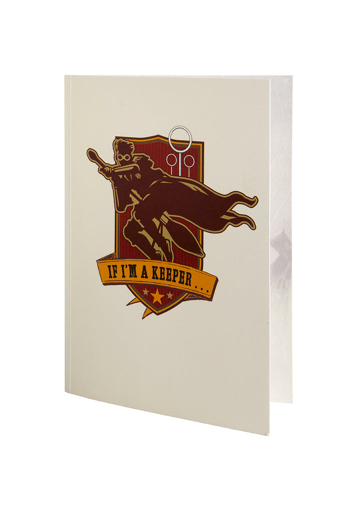 Harry Potter: Golden Snitch Signature Pop-Up Card