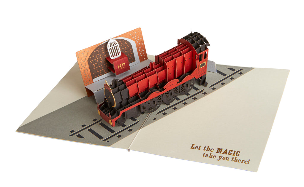 Harry Potter: Hogwarts Express Signature Pop-Up Card