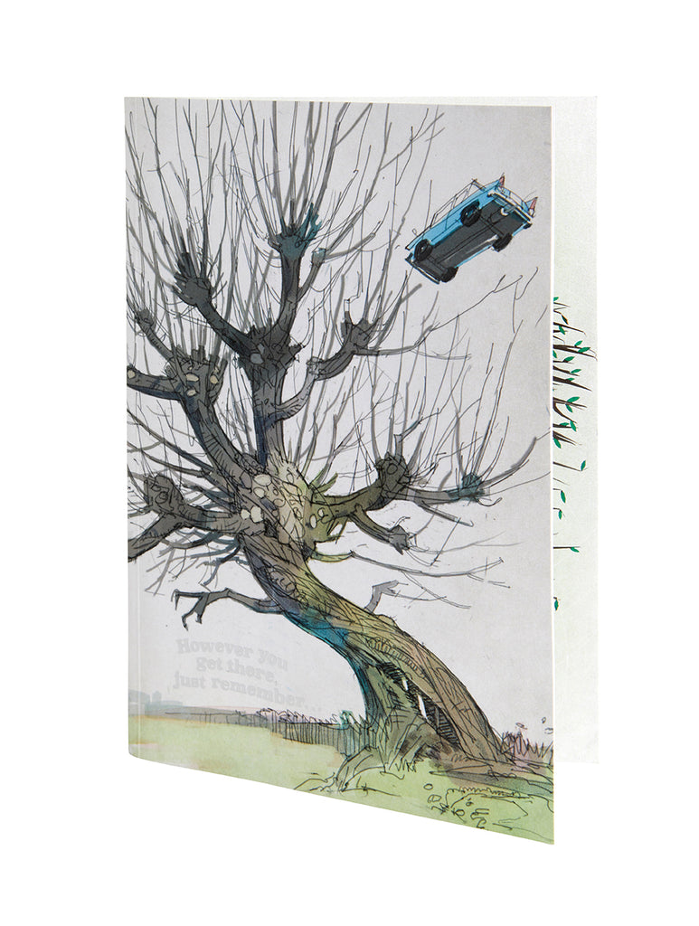 Harry Potter: Whomping Willow Signature Pop-Up Card