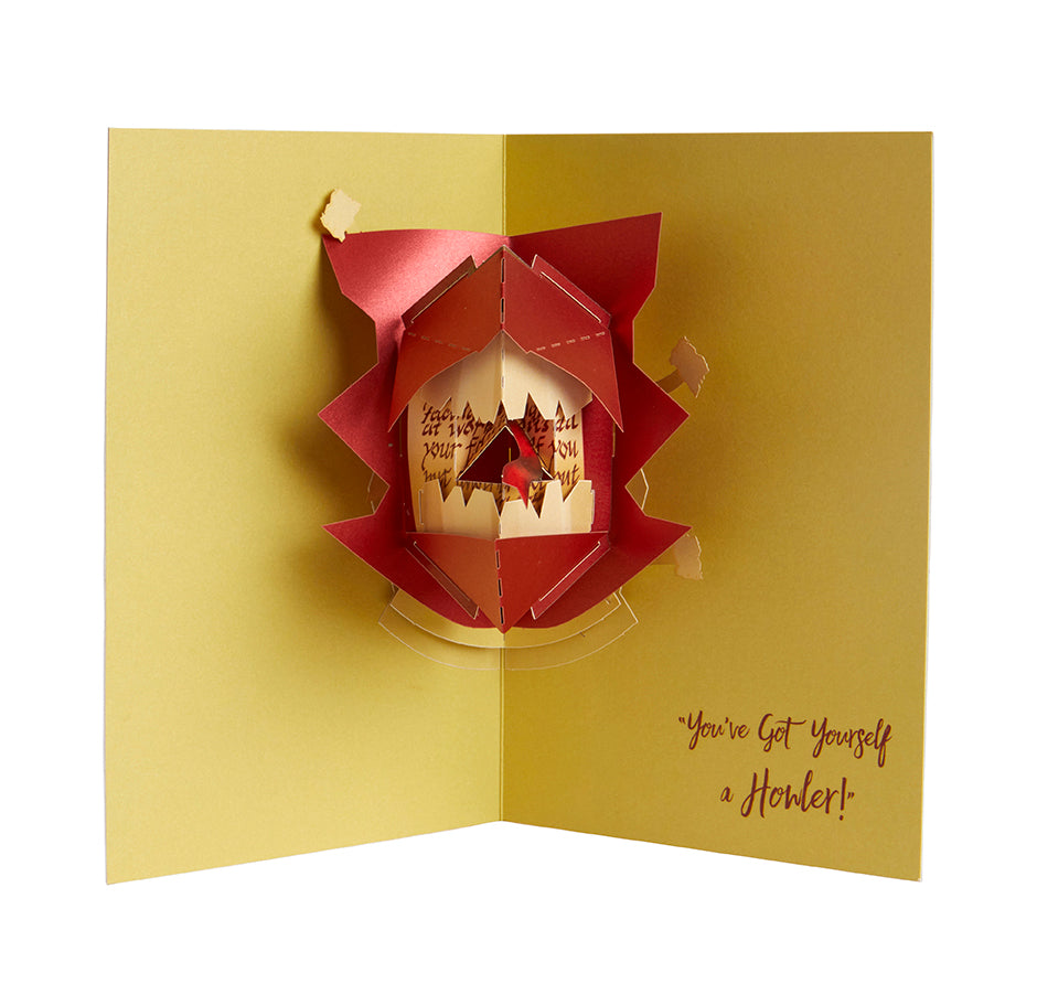 Harry Potter: Howler Pop-Up Card