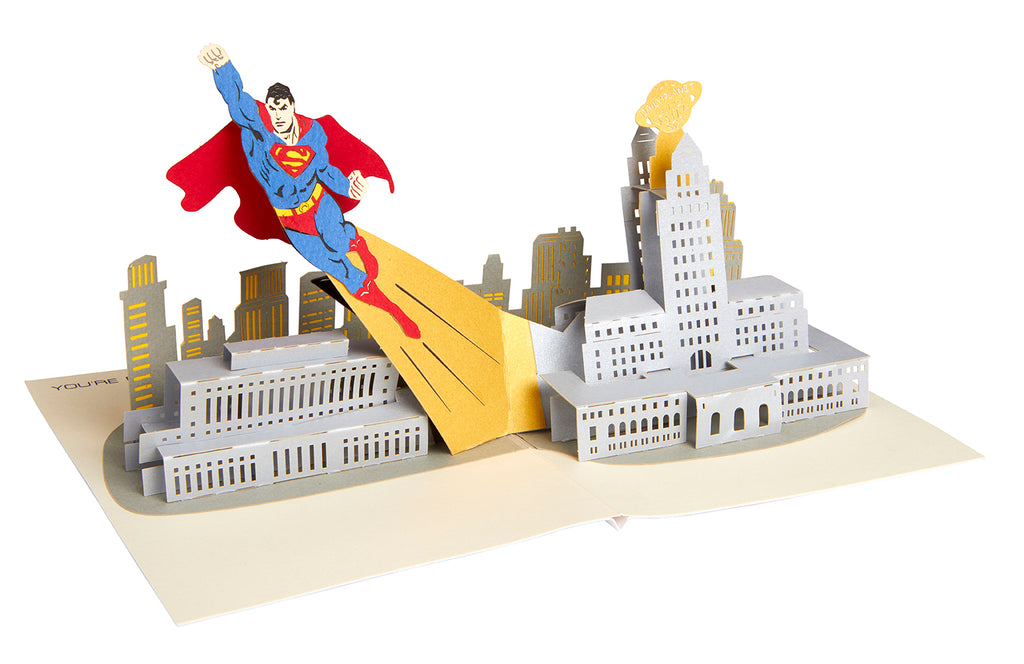 DC Comics: Superman Signature Pop-Up Card