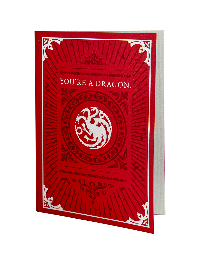 Game of Thrones: Dragon Signature Pop-Up Card