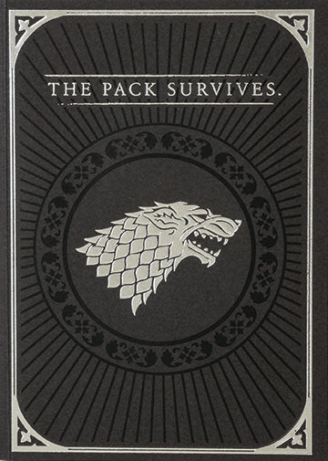 Game of Thrones: Direwolf Signature Pop-Up Card