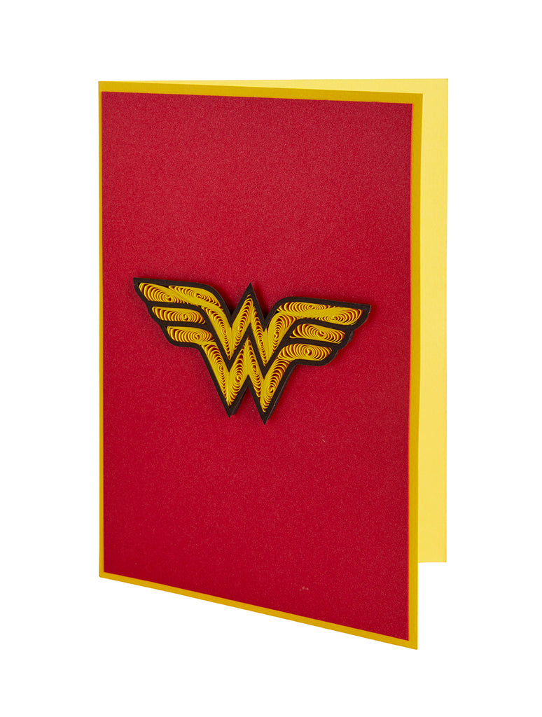 DC Comics: Wonder Woman Quilled Card