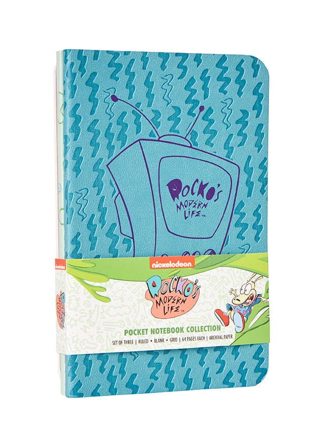 Rocko's Modern Life Pocket Notebook Collection (Set of 3)