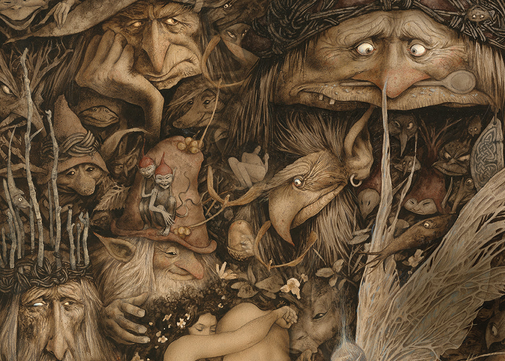 Brian Froud Deluxe Hardcover Sketchbook