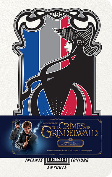 Fantastic Beasts: The Crimes of Grindelwald: Ministère des Affaires Magiques Hardcover Ruled Journal