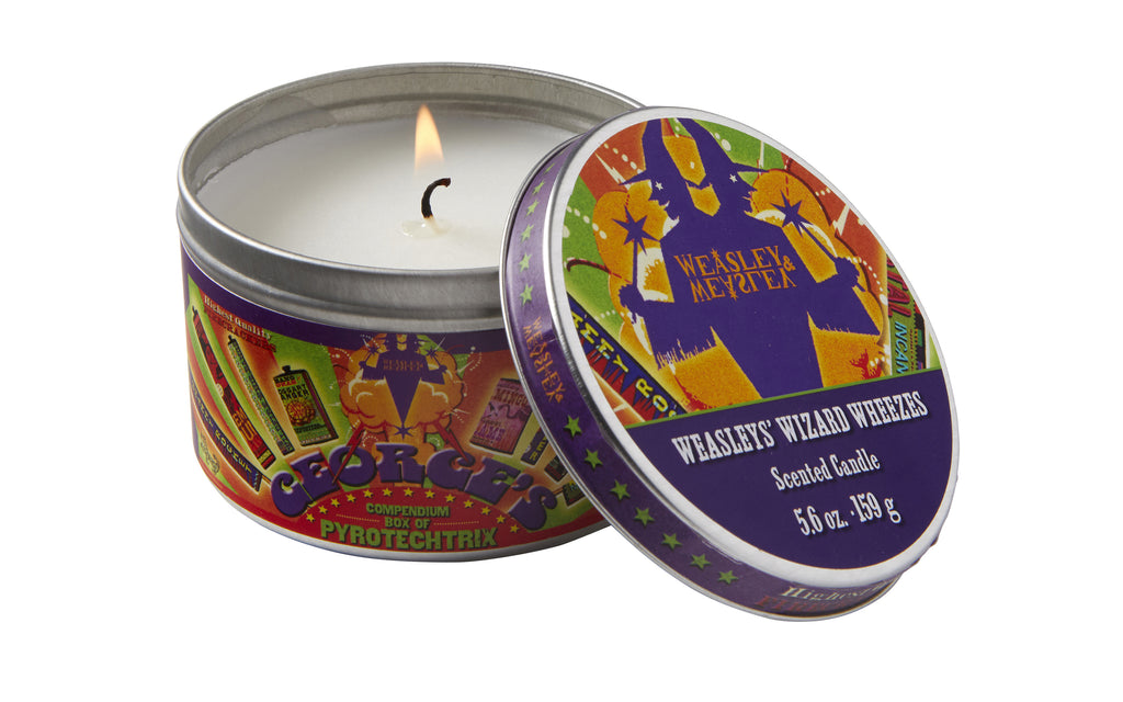 Harry Potter: Weasleys' Wizard Wheezes Scented Candle (Mint - 5.6 oz.)