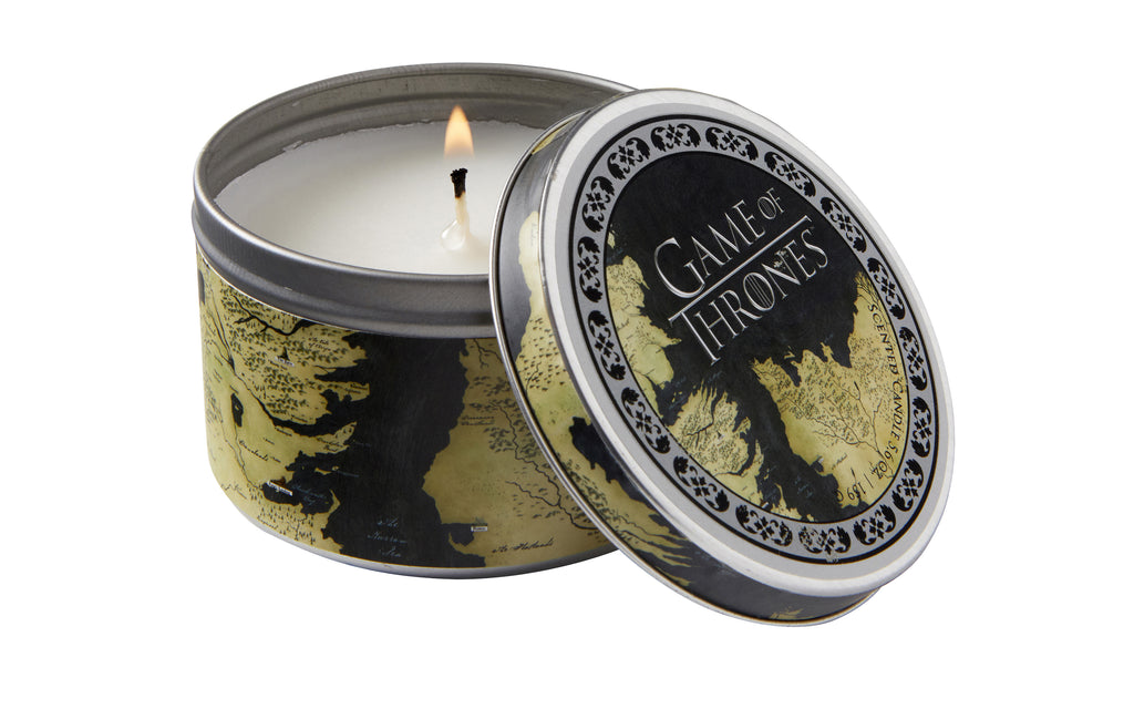 Game of Thrones Map Scented Candle (5.6 oz. - Vanilla)