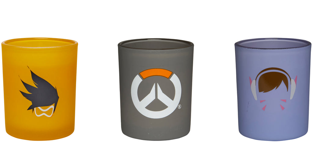 Overwatch: Glass Votive Candle Set