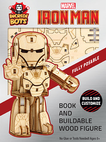 IncrediBuilds: IncrediBots: Marvel: Iron Man