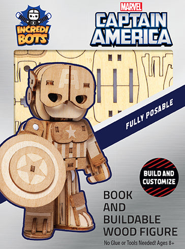 IncrediBuilds: IncrediBots: Marvel: Captain America