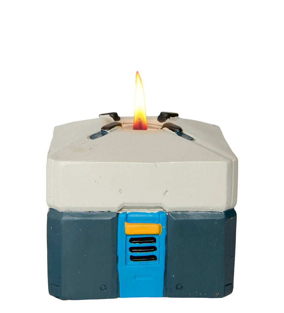 Overwatch: Loot Box Sculpted Candle