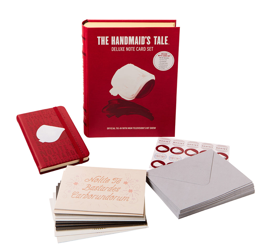 The Handmaid's Tale Deluxe Note Card Set (With Keepsake Book Box)