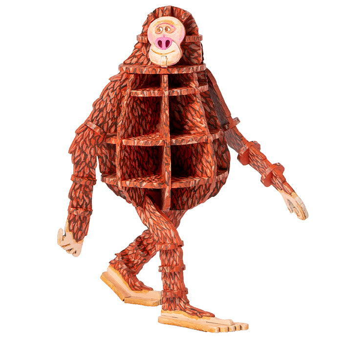 IncrediBuilds: LAIKA: Missing Link 3D Wood Model