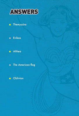 DC Comics: Wonder Woman Pop Quiz Trivia Deck