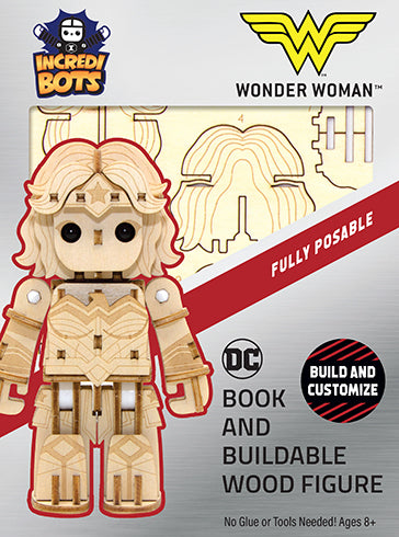IncrediBuilds: IncrediBots: DC Comics: Wonder Woman™