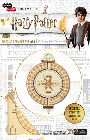 IncrediBuilds Emblematics: Harry Potter: Weasleys' Wizard Wheezes