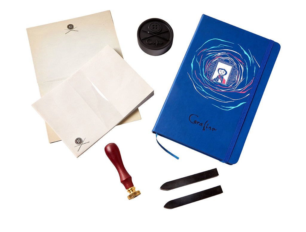 Coraline Deluxe Stationery Set