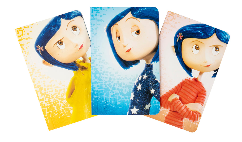 Coraline Pocket Notebook Collection