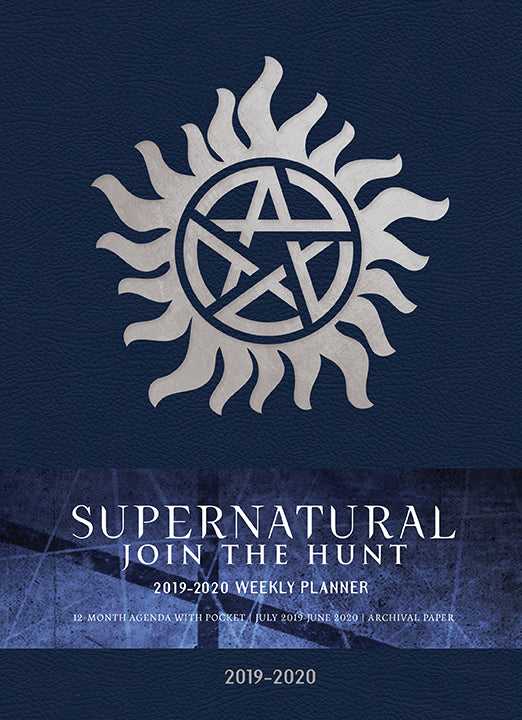 Supernatural 2019-2020 Weekly Planner