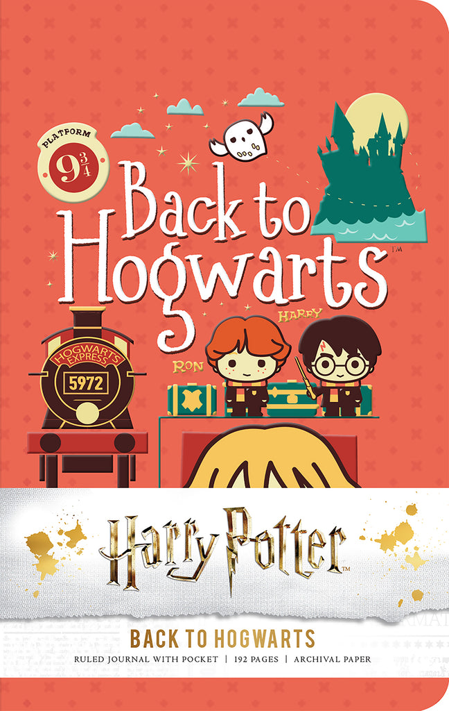 Harry Potter: Back to Hogwarts Ruled Pocket Journal