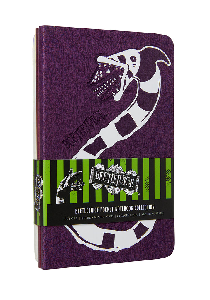 Beetlejuice Pocket Notebook Collection (Set of 3)
