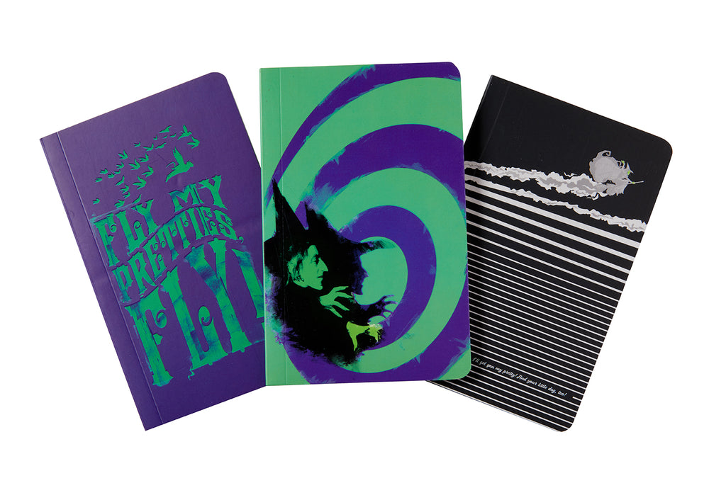 The Wizard of Oz: Wicked Witch of the West Pocket Notebook Collection (Set of 3)