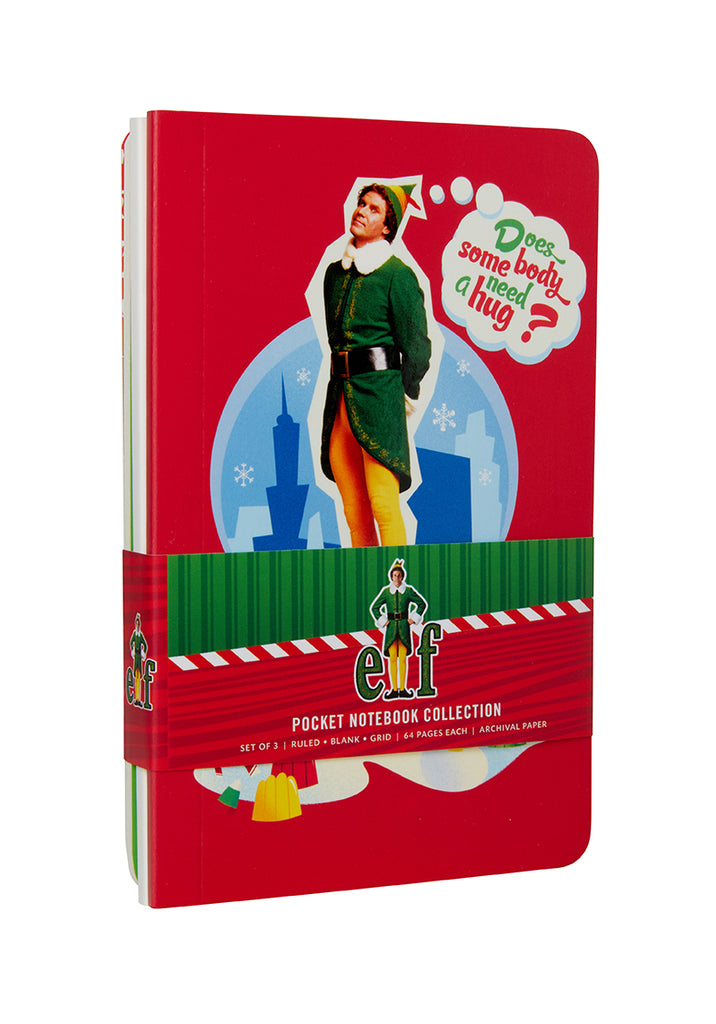 Elf Pocket Notebook Collection (Set of 3)