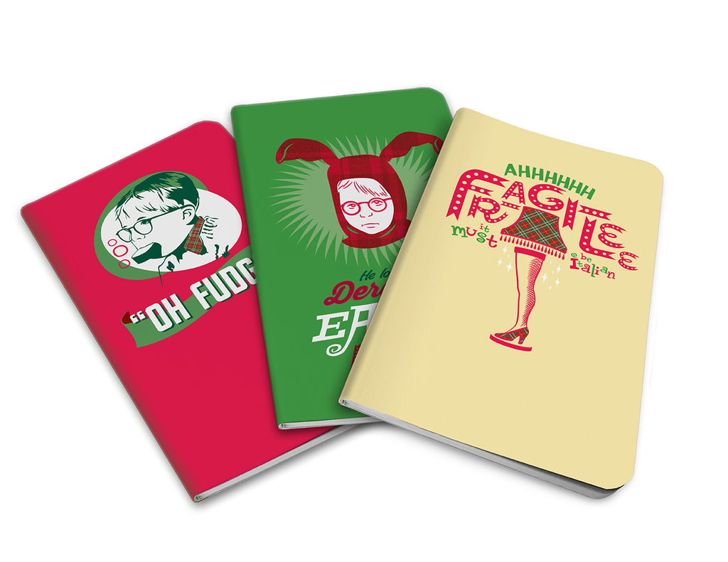 A Christmas Story Pocket Notebook Collection (Set of 3)