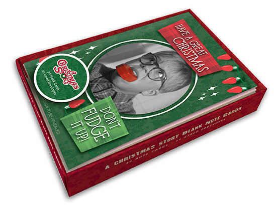 A Christmas Story Blank Boxed Note Cards