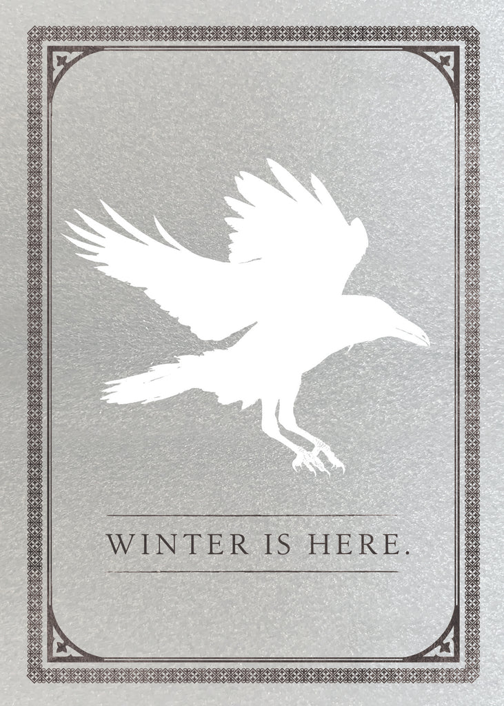 Game of Thrones: White Raven Signature Pop-Up Card