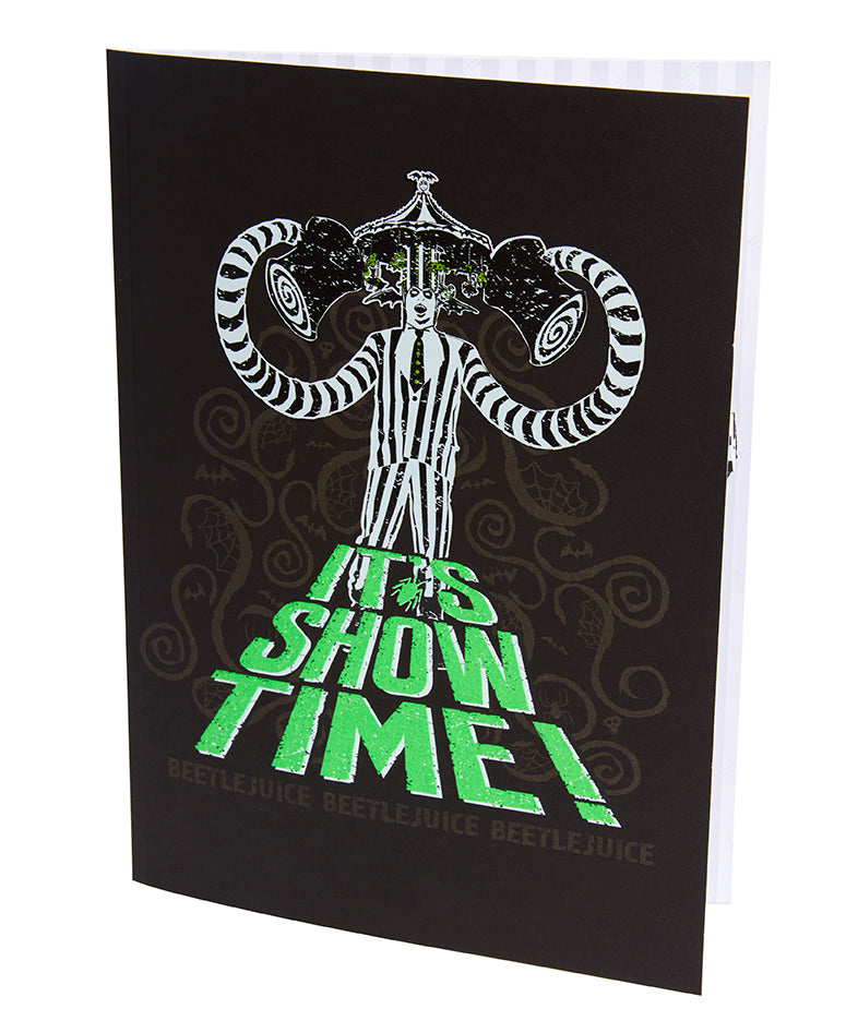 Beetlejuice Pop-Up Card