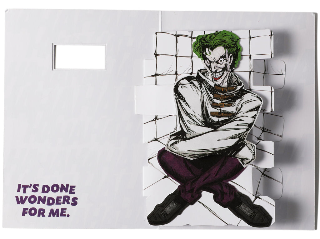 DC Comics: The Joker Pop-Up Card