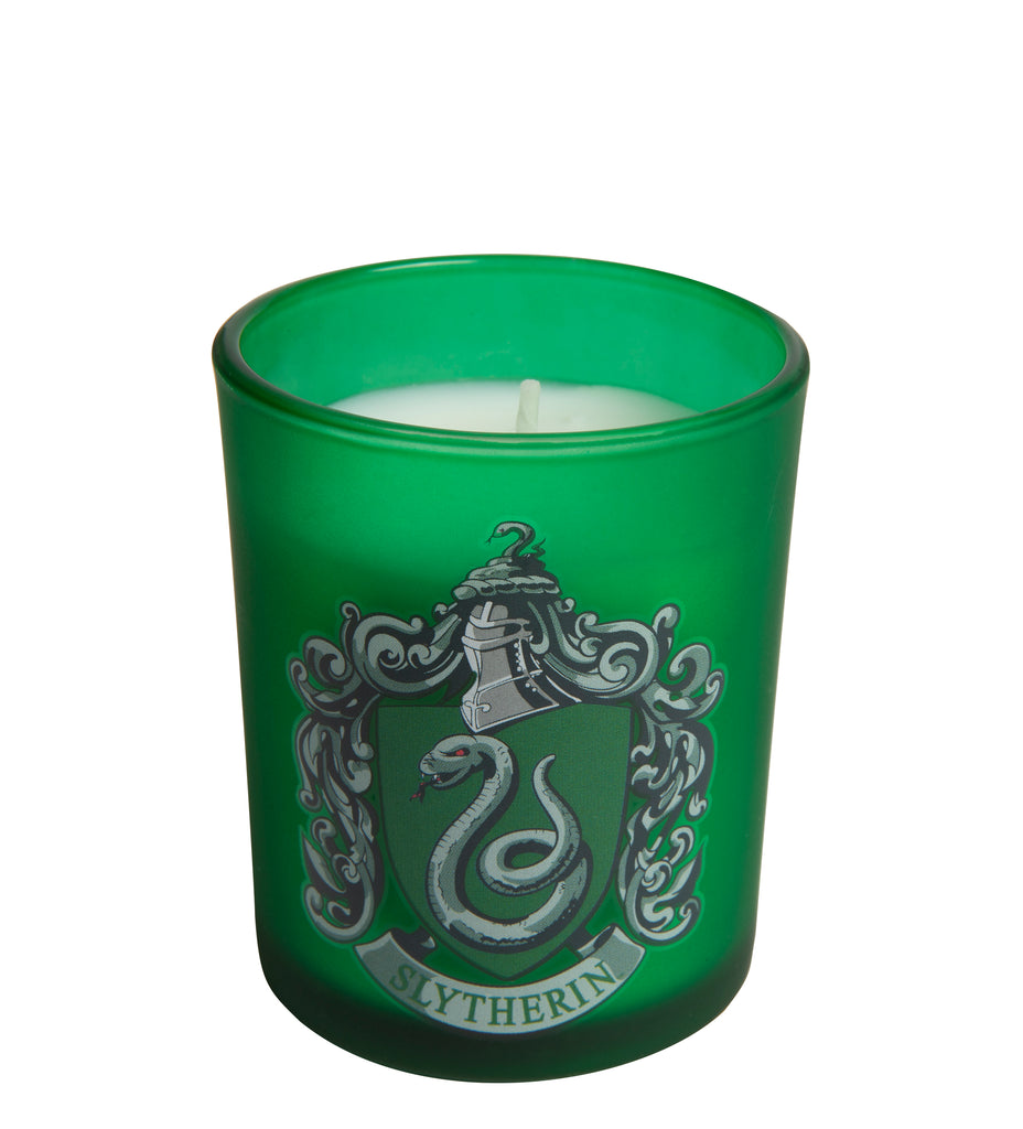 Harry Potter: Slytherin Glass Votive Candle