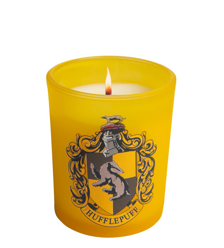 Harry Potter: Hufflepuff Glass Votive Candle