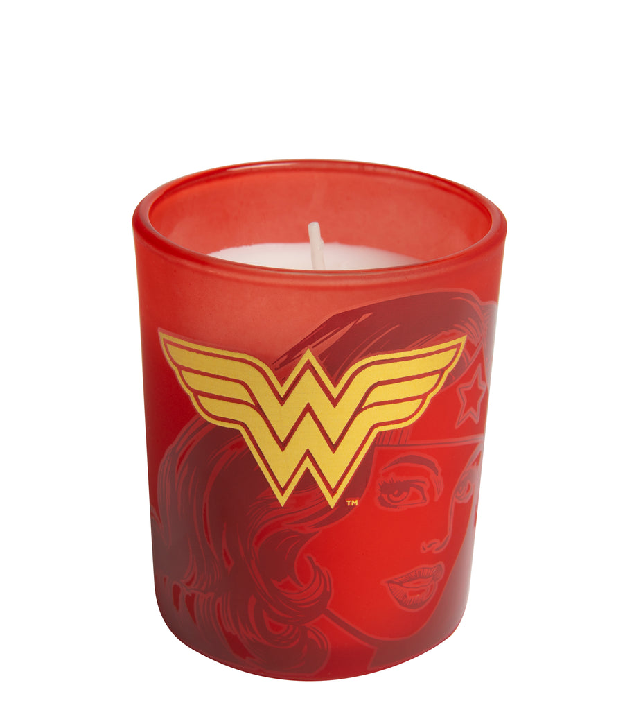 DC Comics: Wonder Woman Glass Votive Candle