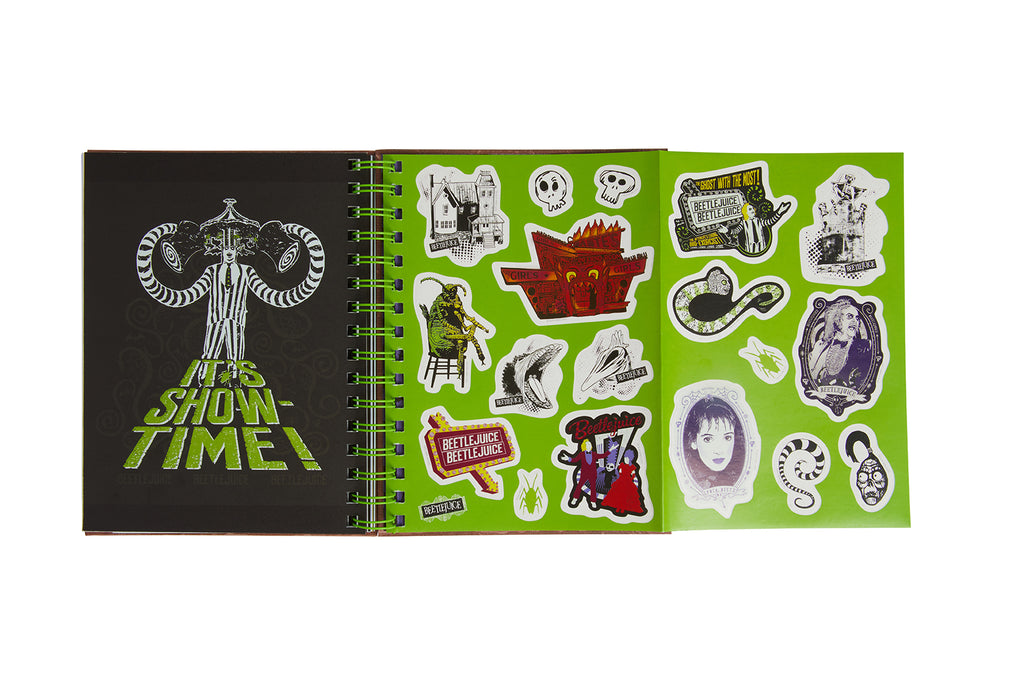 Beetlejuice Spiral Notebook [Hot Topic FTM Exclusive]